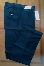 "Izod Club 100% Cotton Twill Golf Pants BLACK Size 34/32 NWT 36"" Actual Waist"