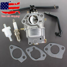 Carburetor For Generac OEM 0J25910113 Honeywell 389cc Engine With Spark Plug