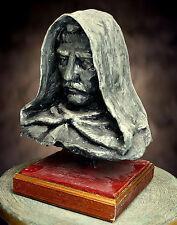 Giordano Bruno statua,opera unica in cartapesta con certificato di autenticità