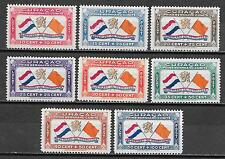 Curacao stamps 1941 NVPH Airmail 18-25  MLH  VF