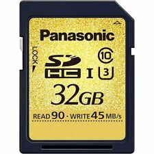 F/S JAPAN Panasonic 32GB SDHC UHS-I memory card RP-SDUC32GJK - Ship by EMS!!