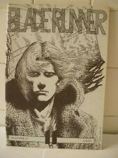 Blade Runner n.11 Pubblicazione amatoriale Novembre 1991.