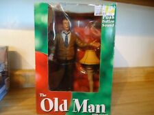 """Neca A Christmas Story """"The Old Man"""" with Lamp 12"""" Figure & Push Button Sound"""
