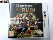 Nintendo 3DS HEROES OF RUIN Azione Avventura Ruolo Square Enix Pal Nuovo New