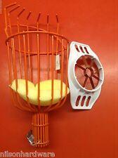 Fruit Picker Basket Corer Slicer Picking Apple Plum Orange Vinyl Coated Fingers