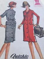 McCalls Sewing Pattern 6904 Misses Ladies Dress Size 18 Uncut Vintage