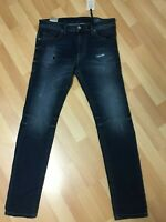 NWD Mens Diesel THOMMER CB NE Stretch JOGGJEANS 0686W DARK Blue SLIM W30 L31 H6