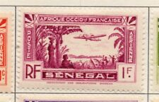 Senegal 1940s AIR Early Issue Fine Mint Hinged 1F. 193311