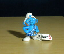 Smurfs Gutsy Smurf Scottish Kilt Figure Vintage Movie Figurine PVC Toy Lot 20732