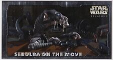 STAR WARS TOPPS EPISODE 1 SERIES 2 WIDEVISION HOBBY EMBOSSED FOIL H-E4 SEBULBA