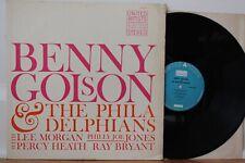 Benny Golson & The Philadelphians LP ~ United Artists UAS 5020 ~ Lee Morgan