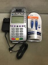 Verifone Vx520 M252-753-03-Naa-3 Dial Eth Credit Card Machine & Charger & Cable