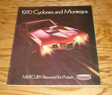 Original 1970 Mercury Cyclone & Montego Deluxe Sales Brochure 70