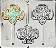 Girl Scout Lollipop Chocolate Candy Mold 3432 NEW
