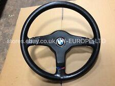 BMW 3 SERIES E30 318 320 323 325 328 M3 M-TECH 1 MOTORSPORT STEERING WHEEL RARE
