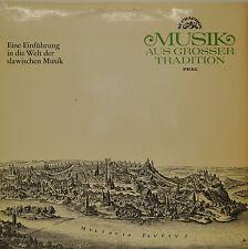 "KAREL ANCERL - MUSIK AUS GROßER TRADITION - SLAWISCHE MUSIK  12"" LP (N726)"