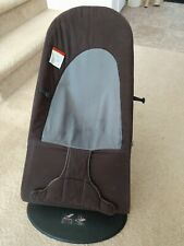 BabyBjorn 005022US Soft Bouncer - Black/Gray