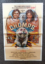 C.H.O.M.P.S. 1979 ORIGINAL 1 SHEET MOVIE POSTER VALERIE BERTINELLI HANNA BARBERA