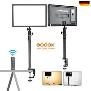 Godox LEDP260 LED Bi-Color Video Lamp Light Panel 3300K~5600K w/ Extender Pole