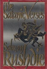 "SALMAN RUSHDIE ""Satanic Verses"" SIGNED First Printing of the FIRST EDITION"