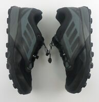 Adidas Terrex 250 Agravic Speed Running Shoes Trail Black Pull Tie Laces #434