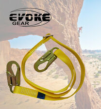 Evoke Gear Adjustable Tree Climbers Lanyard Straps