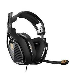 ASTRO Gaming Swappable Precision A40 TR Gaming Headset for PC, Mac - Black