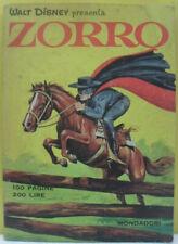 Walt Disney presenta Zorro n° 1 Ed. Mondatori 1968 OTTIMO
