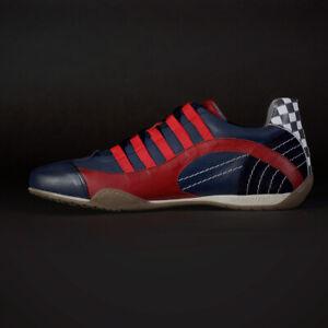 GRANDPRIX ORIGINALS Racing Sneaker red-navy Gr.43 reg. Vk-Preis 179,- Euro