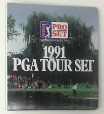 1991 PRO SET Golf Card Collectors BINDER w / Pages PGA Tour Trading Cards Protect
