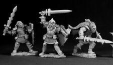Reaper Miniatures Hobgoblins (3 Pieces) #03040 Dark Heaven Unpainted Metal