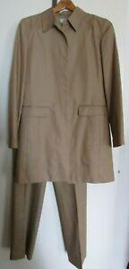 Women's Ann Taylor LOFT Light Brown Pants Suite Size 6 / pants size 8