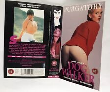 DOG WALKER  (JOHN LESLIE-PURGATORY) RARE AND DELETED VHS INLAY SHEET ONLY HTF