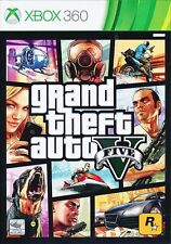 GTA Grand Theft Auto V 5 (XBOX 360) NEW * Free Post from Sydney *