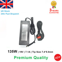 Laptop AC Power Adapter Charger for HP X6000 ZV6000 19V 7.1A 135W Many Models