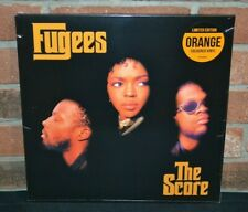 FUGEES - The Score, Limited Import 2LP ORANGE COLORED VINYL New & Sealed!