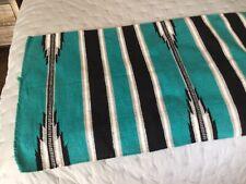 Mayatex Saddle Blanket Ranger 30x60 with tag teal-black-white