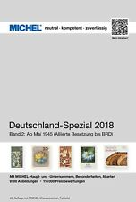 Michel Germany Special Volume 2 2018 since Mail 1945 Brand New