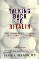 Talking Back to Ritalin (Paperback or Softback)