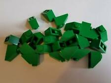 Lego Green Slope 1x2, Part 3040, Element 4121969, Qty:25 - New