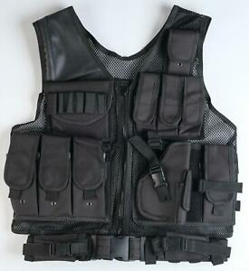 Russian Army Unloading Vest Special Forces Black