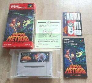 Super Metroid - Nintendo Super Famicom SFC - NTSC-J JAP JAPAN - Très Bon Etat