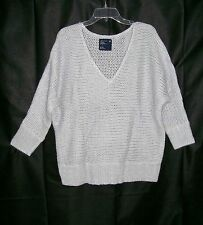 new NWT AMERICAN EAGLE womens Acrylic/Wool Blend V-neck Pullover Sweater size L