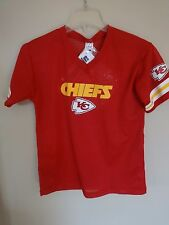 NWT Old Stock Franklin Kansas City Chiefs Replica Jersey & Number Kit Youth Med