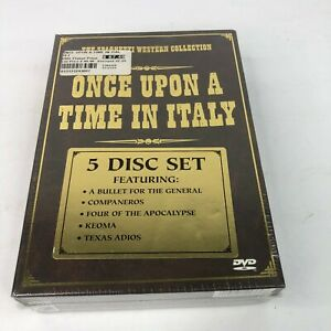 Once Upon a Time In Italy DVD Box Set The Spaghetti Western Collection (NEW)