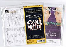 "Lot of 2 DAVID BOWIE JAPAN 3"" CD Real Cool World+Jump They Say WPDP-6306+BVDA-6"