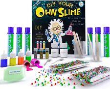 Kids Craft Kit - Slime Making Kit with Glow in The Dark Powder