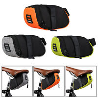 Reflective Bike Saddle Bag Cycling Pouch MTB Bicycle Tail Rear Seat Pannier Bag