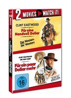 FÜR EINE HANDVOLL DOLLAR/FÜR EIN PAAR DOLLAR MEHR 2 DVD NEU