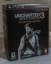 Uncharted 3 Drake's Deception, Collectors Edition PS3 Unopened Game